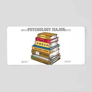Psychology Major Aluminum License Plate