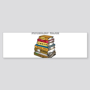 Psychology Major Sticker (Bumper)
