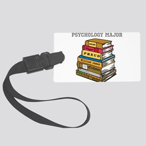 Psychology Major Large Luggage Tag