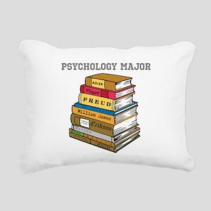 Psychology Major Rectangular Canvas Pillow