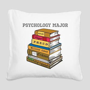 Psychology Major Square Canvas Pillow