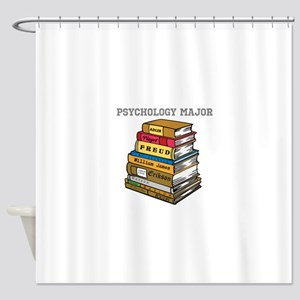 Psychology Major Shower Curtain