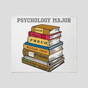 Psychology Major Throw Blanket