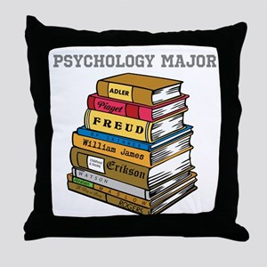 Psychology Major Throw Pillow