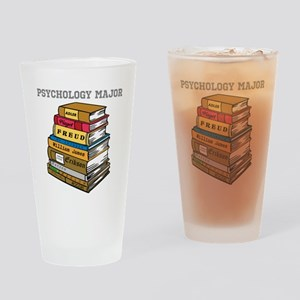 Psychology Major Drinking Glass