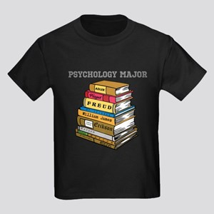 Psychology Major Kids Dark T-Shirt