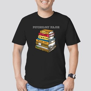 Psychology Major Men's Fitted T-Shirt (dark)