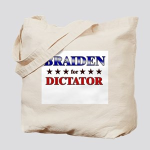 BRAIDEN for dictator Tote Bag