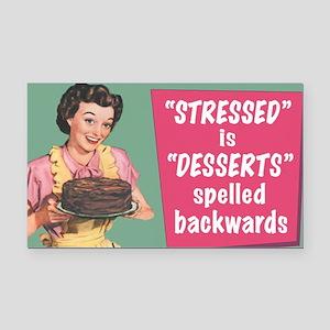 Desserts Rectangle Car Magnet