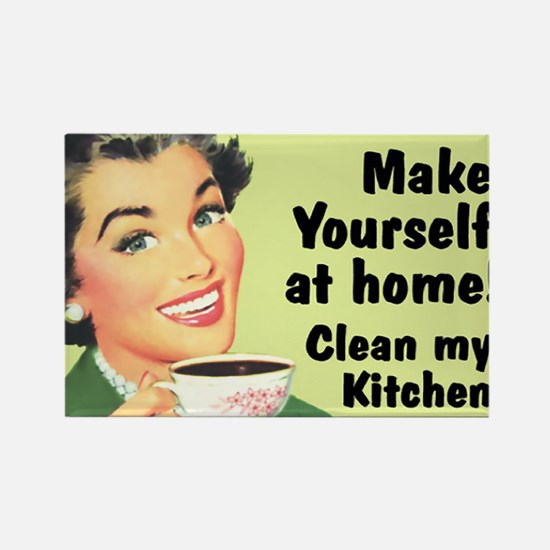 Clean My Kitchen Magnets