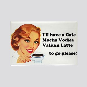 Vodka Latte ToGo Magnets