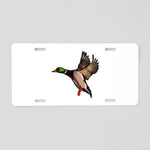 DUCK Aluminum License Plate