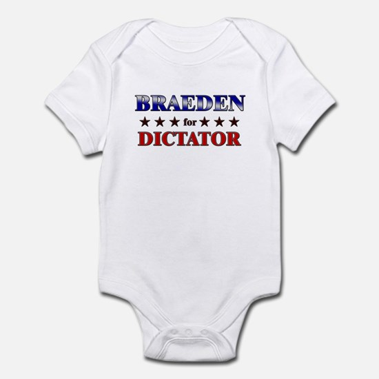 BRAEDEN for dictator Infant Bodysuit