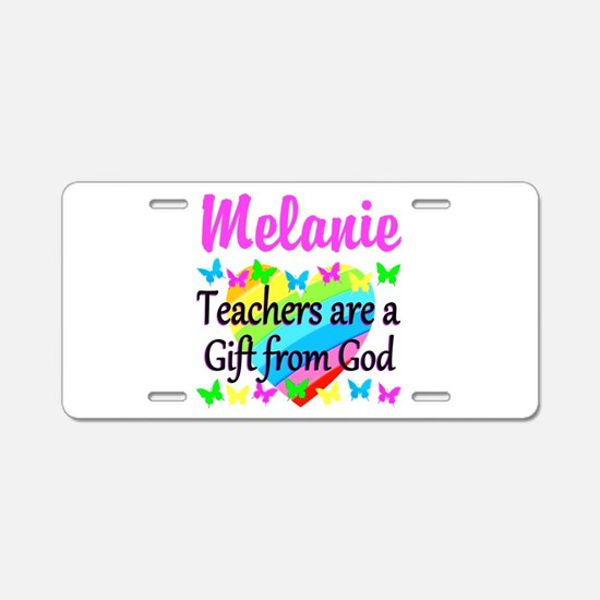 TEACHER PRAYER Aluminum License Plate