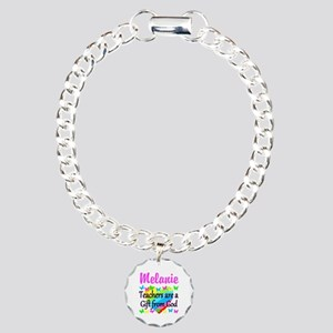 TEACHER PRAYER Charm Bracelet, One Charm