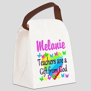 TEACHER PRAYER Canvas Lunch Bag