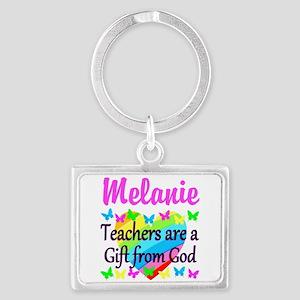 TEACHER PRAYER Landscape Keychain