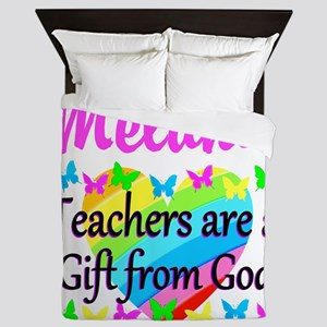 TEACHER PRAYER Queen Duvet