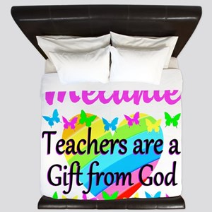 TEACHER PRAYER King Duvet