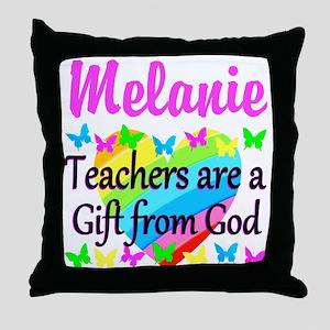 TEACHER PRAYER Throw Pillow