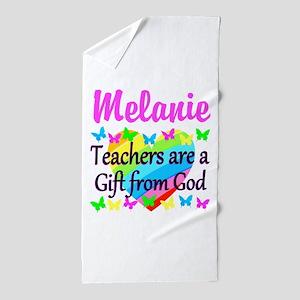 TEACHER PRAYER Beach Towel