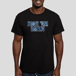 Hawaii 5-0 Book Em Dan Men's Fitted T-Shirt (dark)