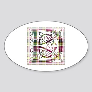 Monogram - Drummond of Strathallan Sticker (Oval)