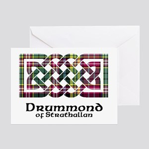 Knot - Drummond of Strathallan Greeting Card