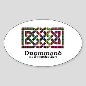 Knot - Drummond of Strathallan Sticker (Oval)