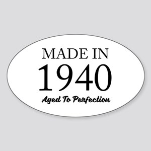 Made In 1940 Sticker