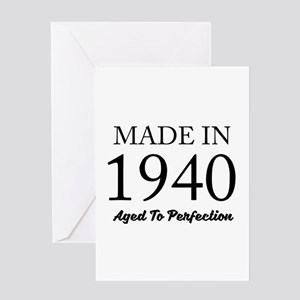Made In 1940 Greeting Cards
