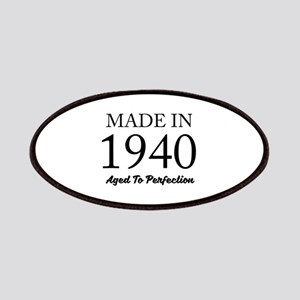 Made In 1940 Patch