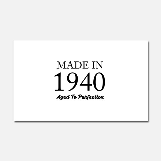 Made In 1940 Car Magnet 20 x 12