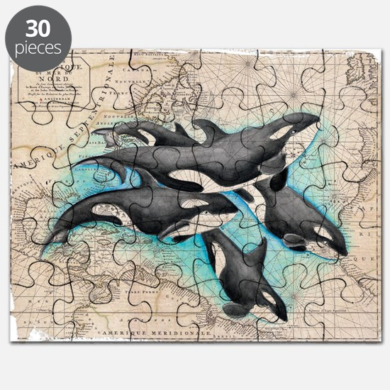 Funny Orca Puzzle