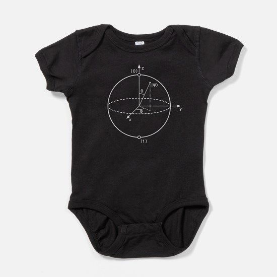 Bloch Sphere Baby Bodysuit