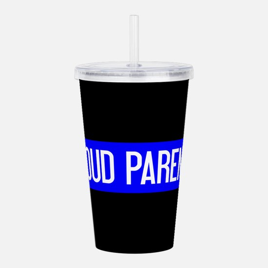 Police: Proud Parents Acrylic Double-wall Tumbler