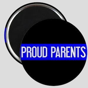 Police: Proud Parents (The Thin Blue Line) Magnet