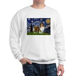 Starry / Sheltie (s&w) Sweatshirt