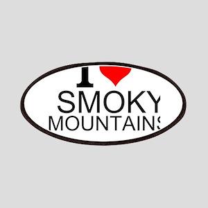 I Love Smoky Mountains Patch