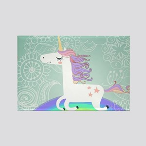 Unicorn Rectangle Magnet