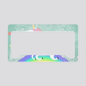 Unicorn License Plate Holder