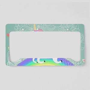 Unicorn License Plate Holder