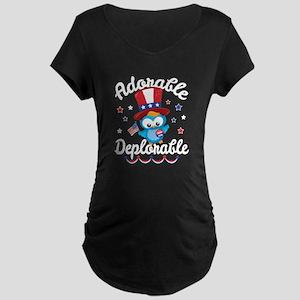 Adorable Deplorable Maternity Dark T-Shirt