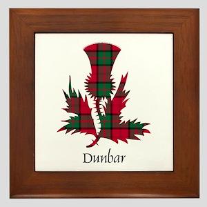 Thistle - Dunbar Framed Tile