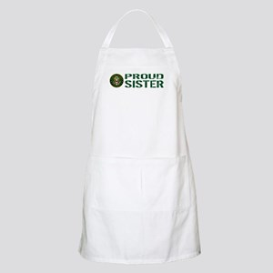 U.S. Army: Proud Sister (Green) Apron