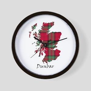 Map - Dunbar Wall Clock