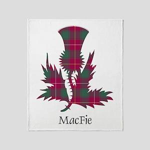 Thistle - MacFie Throw Blanket