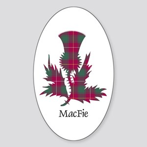 Thistle - MacFie Sticker (Oval)