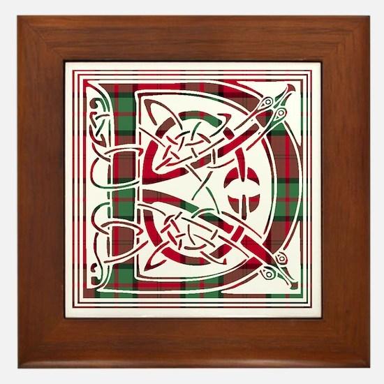 Monogram - Dunbar Framed Tile
