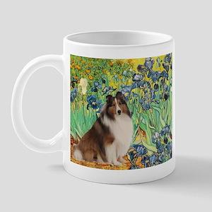 Irises / Sheltie Mug